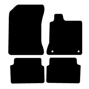 Renault Laguna (2007-2018) Fully tailored car mat set