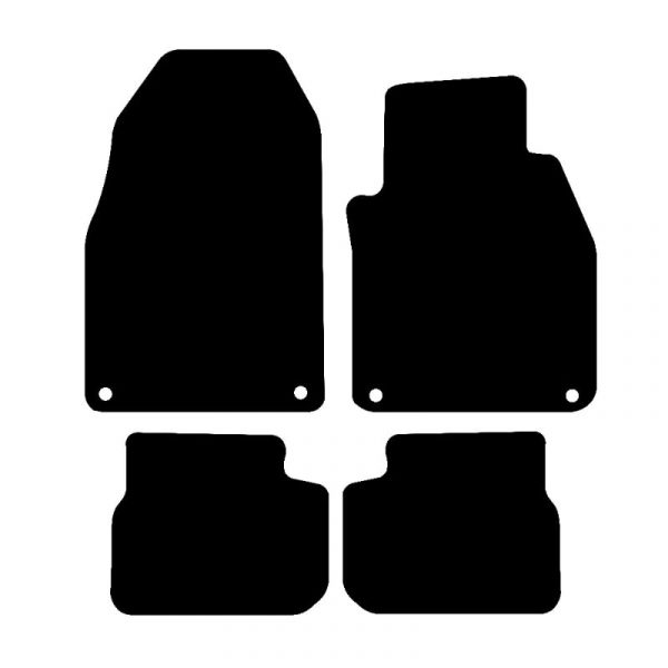 Saab 93 (2003-2014) Fully tailored car mat set