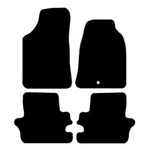 Ford Ranger (2006-2010) Fully tailored rubber car mat set