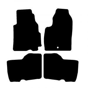 Hyundai Atoz (1998-2001) Fully tailored rubber car mat set