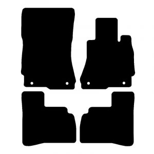 Mercedes S Class  (2006 – 2012) Fully tailored car mat set
