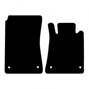 Mercedes SLK (2005-2011) Fully tailored car mat set