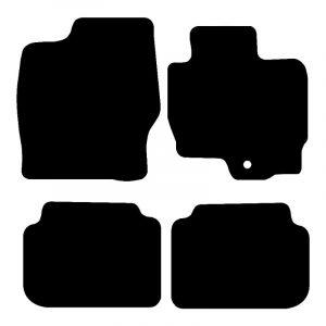 Mitsubishi Colt (2004-2016) Fully tailored car mat set