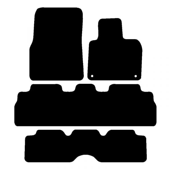 Renault Espace (2003-2007) Fully tailored car mat set