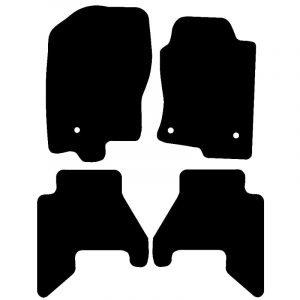 Nissan Pathfinder  (2008 – 2017) Fully tailored car mat set