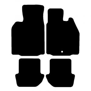 Porsche 911 (2004-2012) Fully tailored car mat set