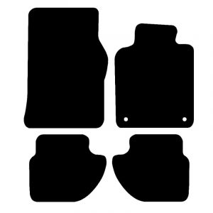 Porsche 968 (1992-1995) Fully tailored car mat set