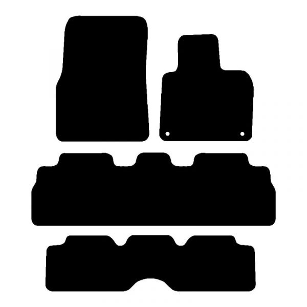 Renault Espace (2011-2018) Fully tailored car mat set