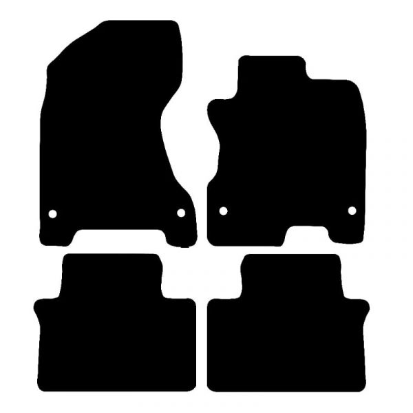 Renault Koleos (2008-2010) Fully tailored car mat set