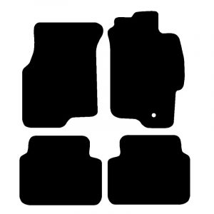 MG ZS (1999-2005) Fully tailored rubber car mat set