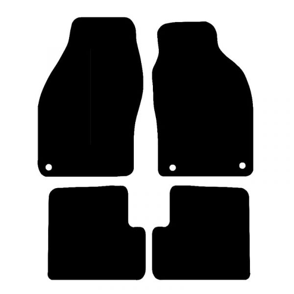 Saab 93 Convertible (1998-2002) Fully tailored car mat set