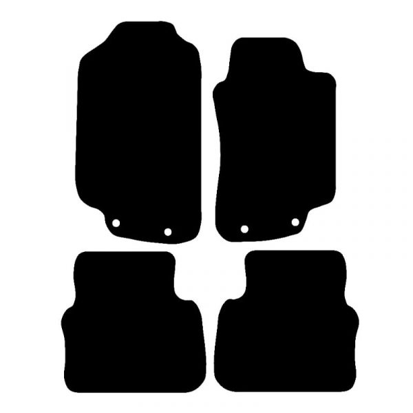 Saab 95 (1997-2009) Fully tailored rubber car mat set