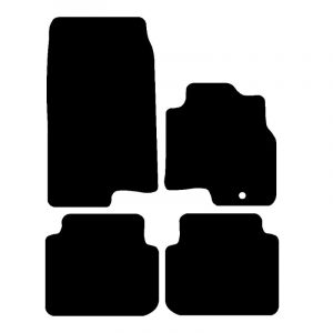 Smart Forfour (2004-2007) Fully tailored car mat set