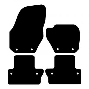 Volvo S60  (2010 – 2020) Fully tailored car mat set
