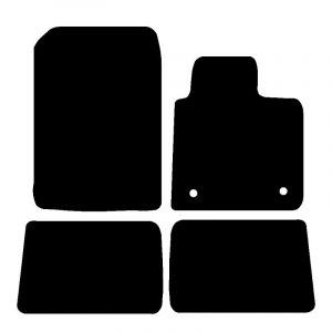 Renault Grand Scenic (2009-2016) Fully tailored car mat set
