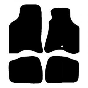 Seat Arosa (1997-2005) Fully tailored car mat set