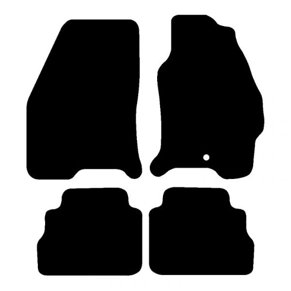 Ford Cougar (1998-2002) Fully tailored rubber car mat set