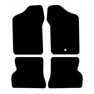 Fiat Seicento (1998-2004) Fully tailored car mat set