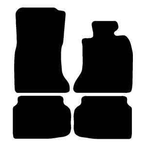 BMW 7 Series (2009-2016) Fully tailored rubber car mat set