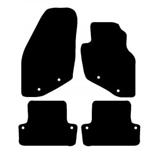 Volvo S60 (2000-2010) Fully tailored rubber car mat set