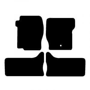 Land Rover Discovery 2 (1999-2004) Fully tailored car mat set