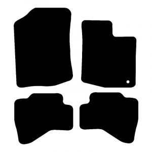 Toyota Aygo (2005-2010) Fully tailored rubber car mat set