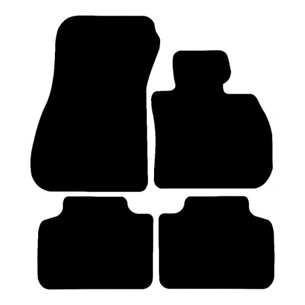 BMW 2 Series Coupe (2014 – 2020) Fully tailored car mat set