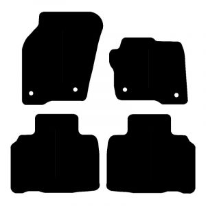 Ford Edge (2015-2018) Fully tailored car mat set