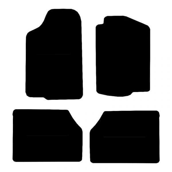 Isuzu Trooper (1992-2004) Fully tailored rubber car mat set