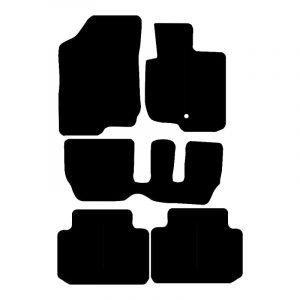 Kia Carens (2007-2012) Fully tailored car mat set