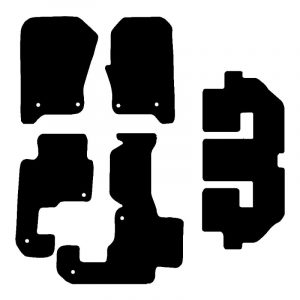 Land Rover Discovery 3 (2004-2009) Fully tailored car mat set