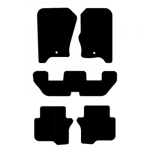 Land Rover Discovery 3 (2010-2012) Fully tailored car mat set
