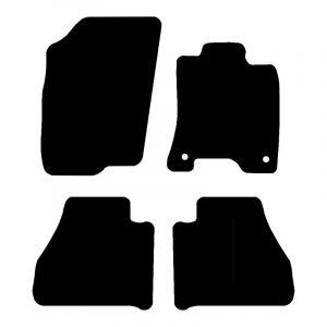 Nissan Navara (2014-2018) Fully tailored car mat set
