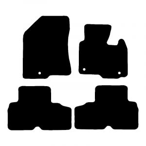 Kia Carens (2013-2018) Fully tailored car mat set